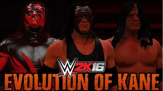 getlinkyoutube.com-WWE 2K16 - Evolution of Kane (1997 - 2016)