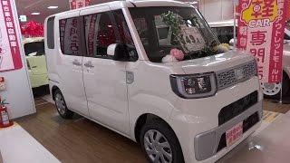 getlinkyoutube.com-Ⓚ Kei car  DAIHATSU WAKE L SA 4WD  ダイハツ ウェイク L SA 4WD 軽自動車