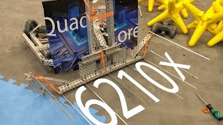 getlinkyoutube.com-6210x Quad Core 1st Gen Robot Reveal [Vex Starstruck]