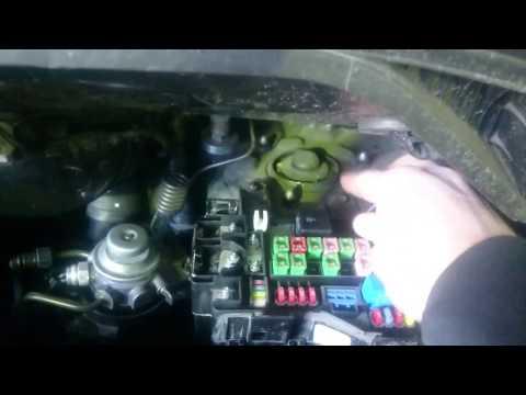 Hyundai Starex H1 не заводится, нет связи с ЭБУ, ремонт проводки