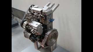 getlinkyoutube.com-DDR IFA TRABANT P 601 DIESELMOTOR Bj 1983 PROTOTYP OLDTIMER CLASSIC CAR Engine