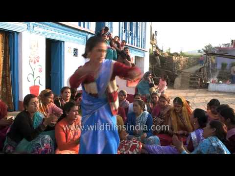 Mahila sangeet - Kumaoni wedding