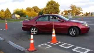 getlinkyoutube.com-Practise Parallel parking of a car in NJ