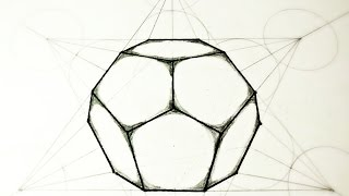 getlinkyoutube.com-How To Draw Dodecahedron - The 5 Platonic Solids