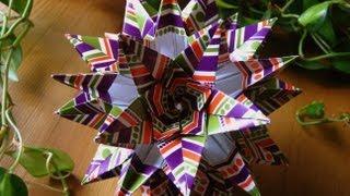 getlinkyoutube.com-Origami ✿ Sparaxis ✿ Kusudama
