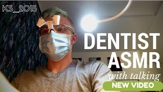 Dentist ASMR Roleplay - WHISPERING, BRUSHING, TAPPING