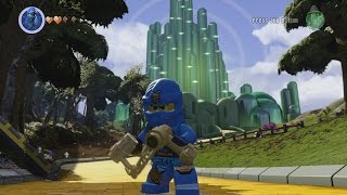 getlinkyoutube.com-LEGO Dimensions - Wizard of Oz World - Open World Free Roam Gameplay