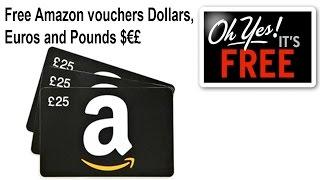 getlinkyoutube.com-How to get amazon vouchers for free