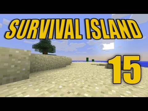 "Minecraft - ""Survival Island"" Part 15: Bucketman"