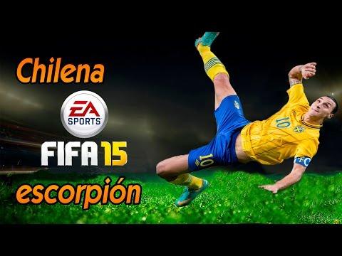 FIFA 15 Tutorial | Cómo rematar de chilena o escorpión