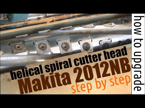 How to upgrade the 2012NB with a spiral cutterhead Youtube Thumbnail