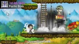 getlinkyoutube.com-Ayumilove MapleStory Kinesis 1st, 2nd, 3rd, 4th Job Skill & Hyper Skills