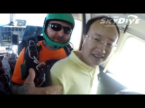 Daihua Li's Tandem skydive!
