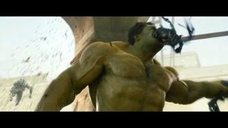 getlinkyoutube.com-Hulk Smash Scenes - Age of Ultron HD