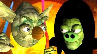 Game-Mashup: ANGRY BIRDS STAR WARS -  MORTAL KOMBAT part3 ♫ 3D animated ☺ FunVideoTV - Style ;-))
