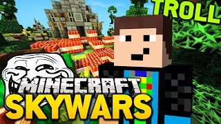 getlinkyoutube.com-Minecraft SKYWARS: EINER GEHT NOCH!! :D [Trolling]