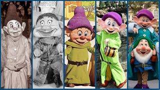Evolution of the Seven Dwarfs Costumes! - DIStory Ep. 20 - Disney Theme Park History