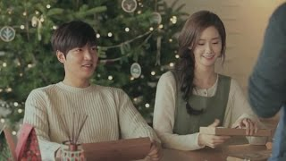 getlinkyoutube.com-Lee Min Ho & Yoona Sweet scene Innisfree 2015
