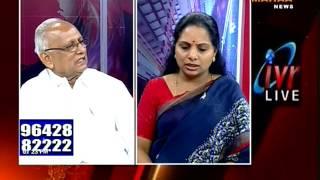 getlinkyoutube.com-ఇప్పటికైతే కేంద్రంలో  చేరం|Editors Time With TRS MP Kavitha -03.12.2016