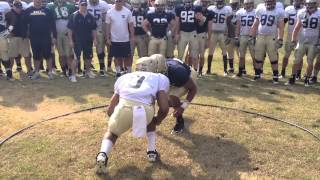 getlinkyoutube.com-Navy Football Ring Drill