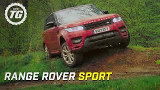 getlinkyoutube.com-Range Rover Sport Review: Mud and Track - Top Gear - Series 20 - BBC