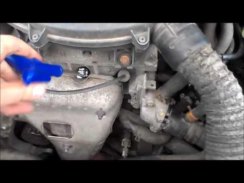 Замена свечей K7J Renault Symbol