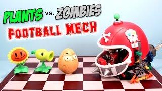 Plants vs. Zombies K'nex Football Mech Building Set Review