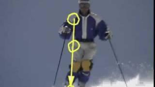 getlinkyoutube.com-Mogul Logic, Mogul Skiing Instruction on Skiing in a Stacked Position