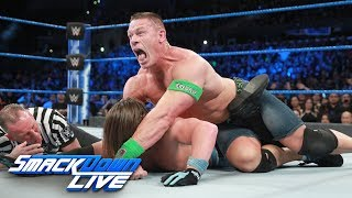 Cena vs. Styles - If Cena wins, he's in WWE Title match at Fastlane: SmackDown LIVE, Feb. 28, 2017