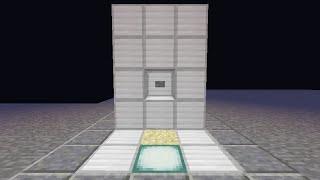 Minecraft 小型4段エレベーター