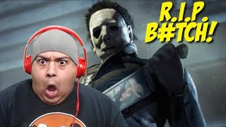 getlinkyoutube.com-RUNNING FOR MY F#%KING LIFE!!! [DEAD BY DAYLIGHT: MICHAEL MYERS]