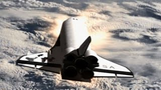 getlinkyoutube.com-Space Shuttle Columbia - Falling Star HD