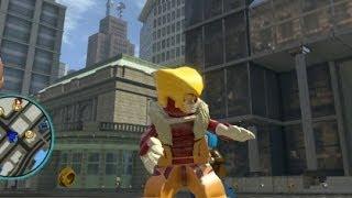 getlinkyoutube.com-LEGO Marvel Super Heroes (PS4) - Sabretooth Free Roam Gameplay