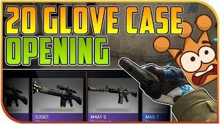 getlinkyoutube.com-CS:GO Glove Case Unboxing Lecker 20er Opening