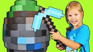 getlinkyoutube.com-GIANT MINECRAFT  EGG ☐ World's Biggest Minecraft Egg ☐ Surprise Egg in Minecraft