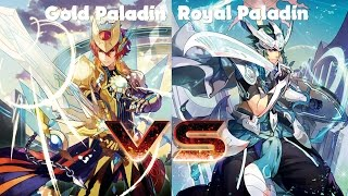 getlinkyoutube.com-Cardfight! Vanguard: Gurguit (Gold Paladin) vs Altmile (Royal Paladin)