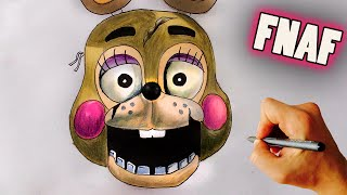 getlinkyoutube.com-♥ How to draw Toy Springtrap from FNAF - Drawing tutorial
