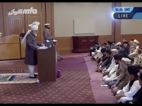 Urdu Khutba Juma 8th November 2013: Be a man of God