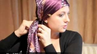 getlinkyoutube.com-How To Wear A Head Scarf Wrap - www.ScarfTips.com