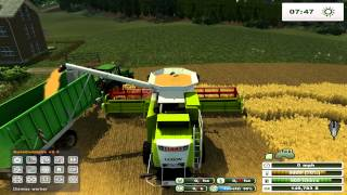 getlinkyoutube.com-Farming Simulator 2013 on Holzhausen Agriculture Forestry map pt3