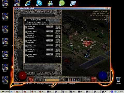 Diablo II : multiple diablo 2 on 1 PC 100% free (SEPULTURA)