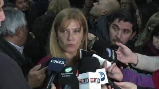 Nota a Fernando Espinoza y Veronica Magario
