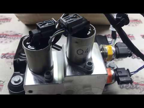 A1663201358 Блок клапанов активных стабилизаторов, задний Mercedes ML W166 X166