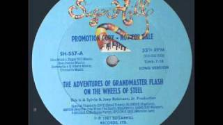 The Adventures Of Grandmaster Flash On The Wheels Of Steel (Long Version)