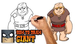 getlinkyoutube.com-How to Draw Giant | Clash of Clans