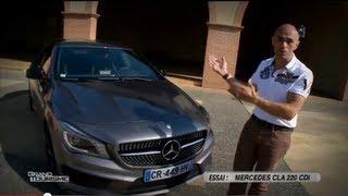 Mercedes CLA 220 CDI - ESSAI