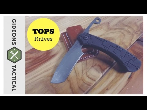 TOPS Knives Tac-Raze: Old School In A New Way