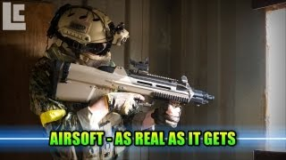getlinkyoutube.com-Airsoft - Integrity Tactical Solutions Extreme Realism! (Airsoft F2000 Gameplay/Commentary)