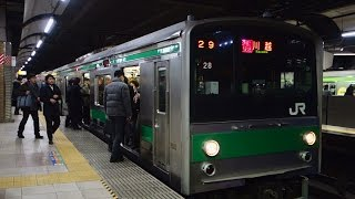 [1080p60fps]湘南新宿ライン・埼京線 新宿駅-渋谷駅-恵比寿駅 JR Shonan-Shinjuku Line Shinjuku & Shibuya & Ebisu Station