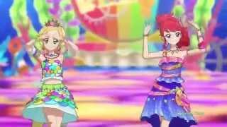 getlinkyoutube.com-(HD)Aikatsu!-Hinaki&Juri- [Poppin' Bubbles] Episode 120